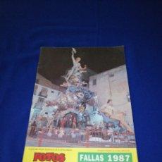 Coleccionismo de Revista Temas Españoles: FOTOS ALBUM BAYARRI FALLAS 1987. Lote 270888483