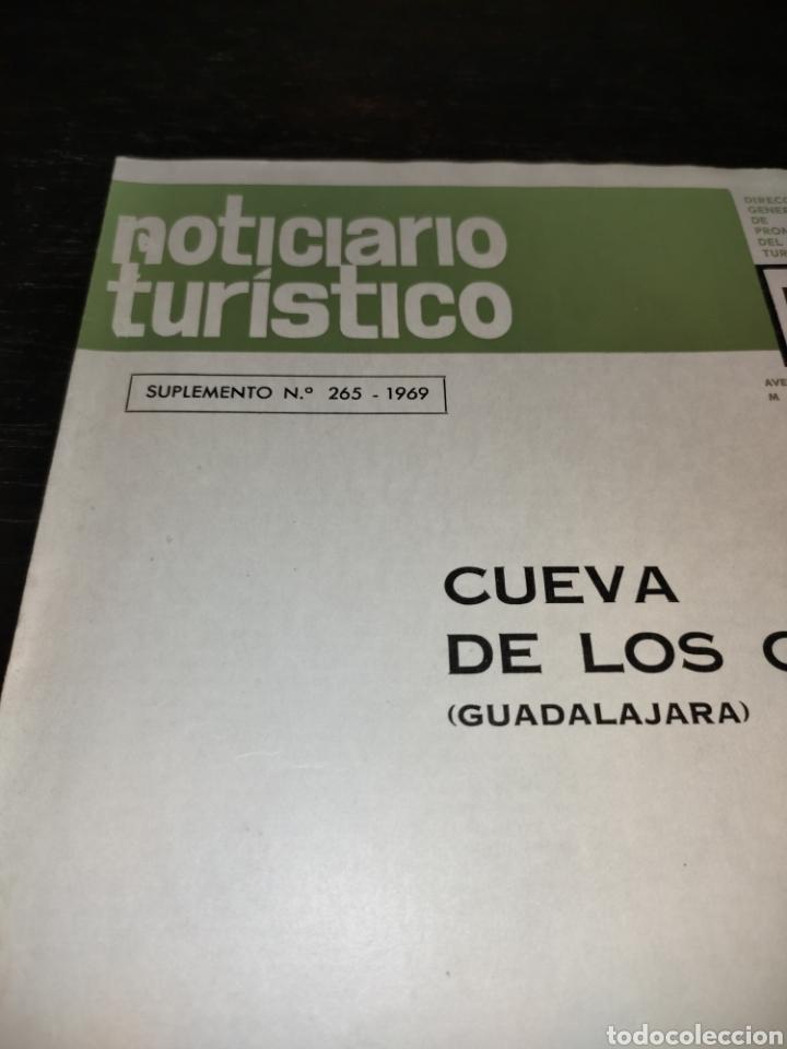 Coleccionismo de Revista Temas Españoles: Cueva de los Casares Guadalajara. Noticiario turístico. suplemento número 265 1969 - Foto 2 - 272088123