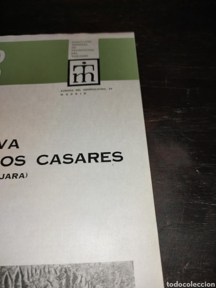 Coleccionismo de Revista Temas Españoles: Cueva de los Casares Guadalajara. Noticiario turístico. suplemento número 265 1969 - Foto 3 - 272088123