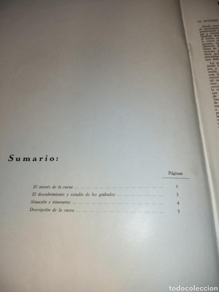Coleccionismo de Revista Temas Españoles: Cueva de los Casares Guadalajara. Noticiario turístico. suplemento número 265 1969 - Foto 4 - 272088123