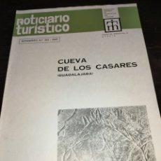 Coleccionismo de Revista Temas Españoles: CUEVA DE LOS CASARES GUADALAJARA. NOTICIARIO TURÍSTICO. SUPLEMENTO NÚMERO 265 1969. Lote 272088123