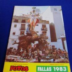 Collectionnisme de Magazine Temas Españoles: FOTOS FALLAS 1983 ALBUM BAYARRI. Lote 273937823