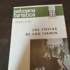 Coleccionismo de Revista Temas Españoles: NOTICIERO TURÍSTICO. FIESTA DE SAN FERMÍN. SUPLEMENTO NÚMERO 271 AÑO 1969.. Lote 274014843
