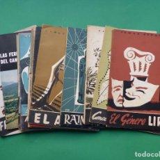 Coleccionismo de Revista Temas Españoles: TEMAS ESPAÑOLES, 16 REVISTAS - AÑOS 1950 - VER FOTOS ADICIONALES. Lote 276519638