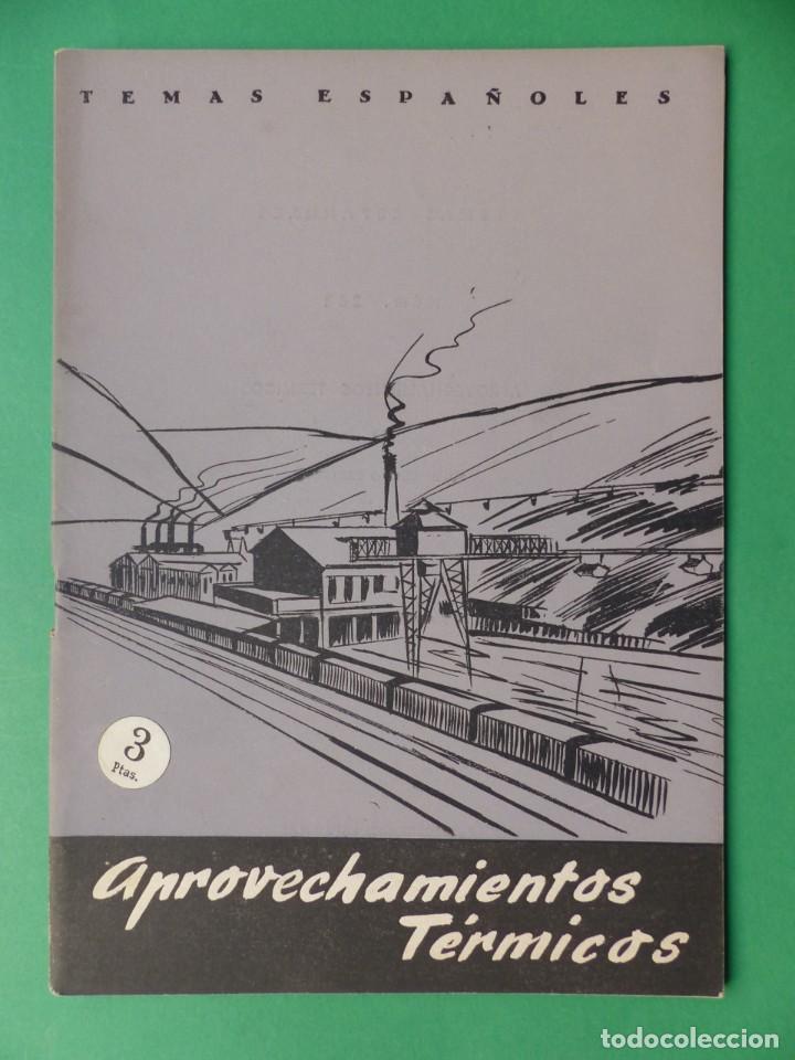 Coleccionismo de Revista Temas Españoles: TEMAS ESPAÑOLES, 16 REVISTAS - AÑOS 1950 - VER FOTOS ADICIONALES - Foto 11 - 276519638