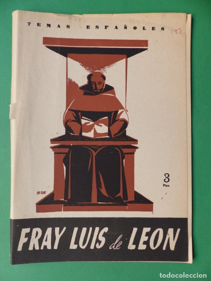 Coleccionismo de Revista Temas Españoles: TEMAS ESPAÑOLES, 16 REVISTAS - AÑOS 1950 - VER FOTOS ADICIONALES - Foto 15 - 276519638