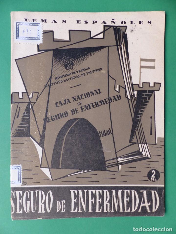 Coleccionismo de Revista Temas Españoles: TEMAS ESPAÑOLES, 16 REVISTAS - AÑOS 1950 - VER FOTOS ADICIONALES - Foto 16 - 276519638