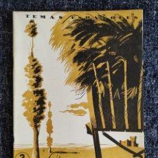 Coleccionismo de Revista Temas Españoles: TEMAS ESPAÑOLES Nº 116 CASTILLA LA VIEJA -EDITADO : AÑOS 60. Lote 278528528