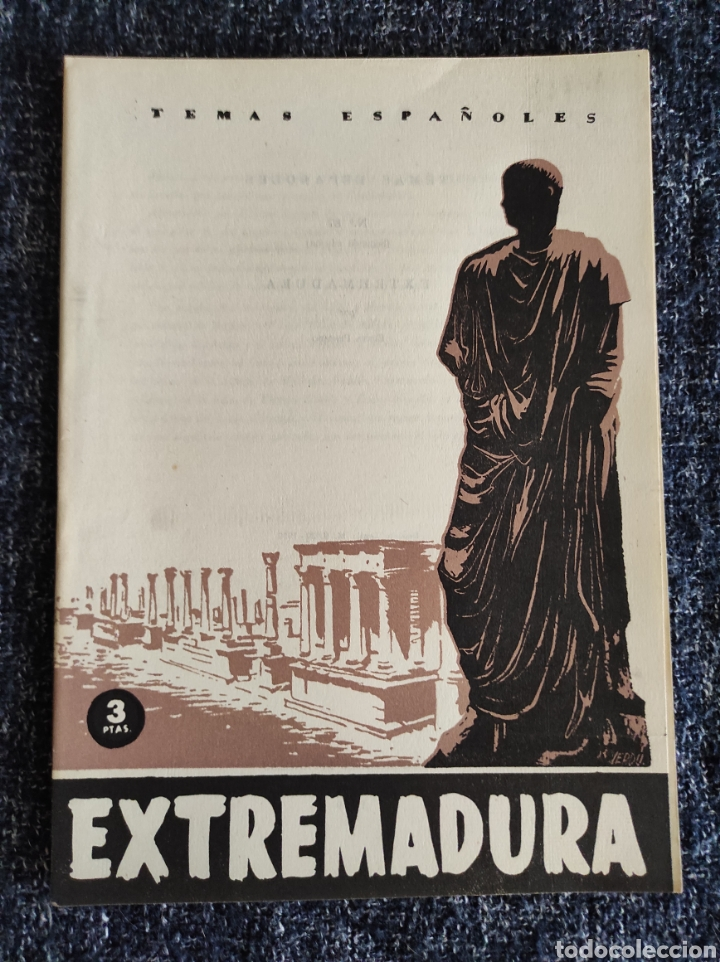 TEMAS ESPAÑOLES Nº 87 EXTREMADURA -EDITADO : AÑOS 60 (Papel - Revistas y Periódicos Modernos (a partir de 1.940) - Revista Temas Españoles)