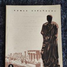 Coleccionismo de Revista Temas Españoles: TEMAS ESPAÑOLES Nº 87 EXTREMADURA -EDITADO : AÑOS 60. Lote 278528623