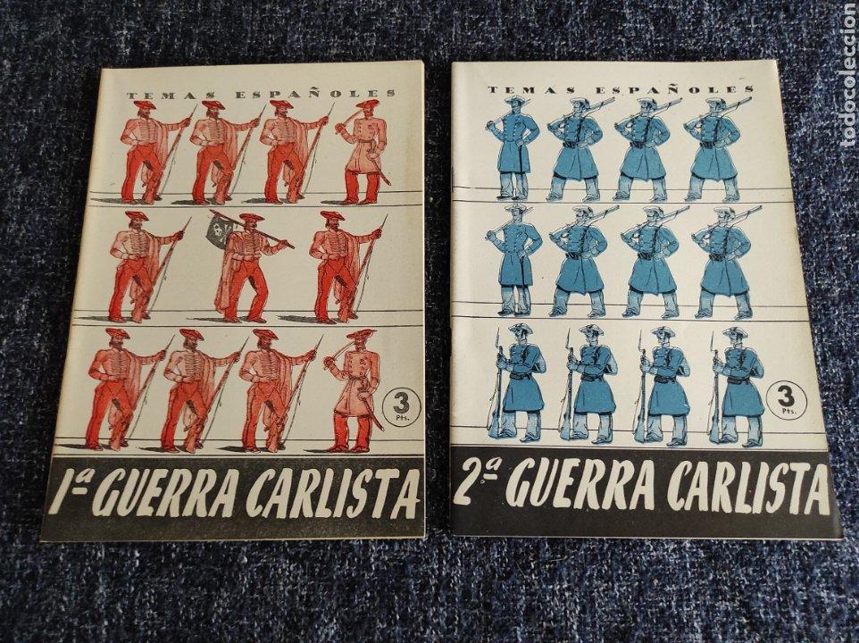 TEMAS ESPAÑOLES Nº 110 Y 111 - 1ª - 2ª GUERRA CARLISTA -EDITADO : AÑOS 60 (Papel - Revistas y Periódicos Modernos (a partir de 1.940) - Revista Temas Españoles)