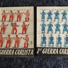 Coleccionismo de Revista Temas Españoles: TEMAS ESPAÑOLES Nº 110 Y 111 - 1ª - 2ª GUERRA CARLISTA -EDITADO : AÑOS 60. Lote 278529693