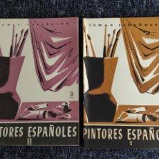 Coleccionismo de Revista Temas Españoles: TEMAS ESPAÑOLES Nº 109 , 168 PINTORES ESPAÑOLES I Y II -EDITADO : AÑOS 60. Lote 278529748