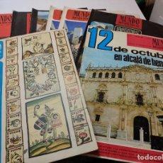 Coleccionismo de Revista Temas Españoles: REVISTAS-MUNDO HISPÁNICO- LOTE 8 CON EL NÚMERO EXTRAORDINARIO 12 DE OCTUBRE ESCASO. Lote 284341998