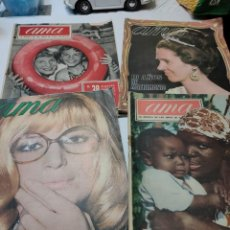 Coleccionismo de Revista Temas Españoles: REVISTAS AMA LA REVISTA DE LAS AMAS DE CASA ESPAÑOLAS LOTE 4 AÑOS 60-70. Lote 284370013
