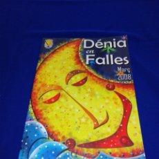 Coleccionismo de Revista Temas Españoles: DENIA EN FALLES 2008. Lote 287609943