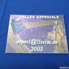 Coleccionismo de Revista Temas Españoles: FEDERACIÓN DE FALLAS DE ESPECIAL 2003. Lote 287683903