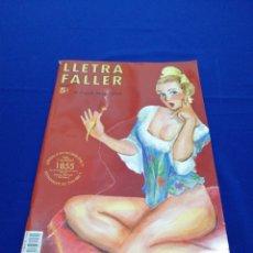 Coleccionismo de Revista Temas Españoles: LLETRA FALLER 2009 REVISTA FALLERA. Lote 288100113