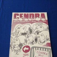 Coleccionismo de Revista Temas Españoles: CENDRA SUC DE FALLES 2005 REVISTA FALLERA. Lote 288141833