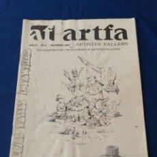 Coleccionismo de Revista Temas Españoles: ARTFA ARTISTES FALLEROS AÑO 1993 NUMERO 4. Lote 288148928
