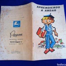 Coleccionismo de Revista Temas Españoles: PEGASO - APRENDIENDO A ANDAR (CON SELLOS DE PEGASO PORTADAS). Lote 288528753