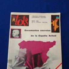 Coleccionismo de Revista Temas Españoles: TODOS TOTS - PUBLICACIÓN VALENCIANA AÑO 1984 ESPECIAL FALLAS 84. Lote 290654993
