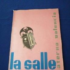Coleccionismo de Revista Temas Españoles: LA SALLE PATERNA(VALENCIA) COLEGIO ANUARIO 1966-67. Lote 292126913