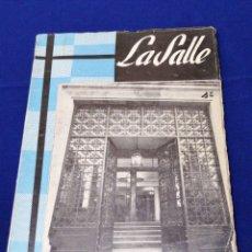 Coleccionismo de Revista Temas Españoles: LA SALLE COLEGIO PATERNA (VALENCIA) ANUARIO 1963-64. Lote 292127633