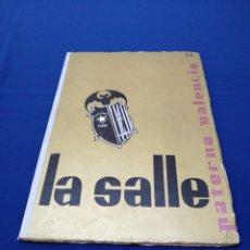 Coleccionismo de Revista Temas Españoles: LA SALLE COLEGIO PATERNA (VALENCIA) ANUARIO 1965-66. Lote 292128778