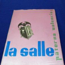 Coleccionismo de Revista Temas Españoles: LA SALLE COLEGIO PATERNA (VALENCIA) MEMORIA ESCOLAR 1966-67. Lote 292129843