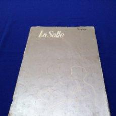 Coleccionismo de Revista Temas Españoles: LA SALLE COLEGIO PATERNA (VALENCIA) MEMORIA ESCOLAR 1962-63. Lote 292132328