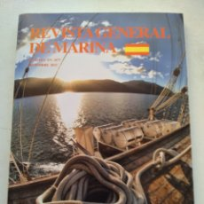 Coleccionismo de Revista Temas Españoles: REVISTA GENERAL DE MARINA/DICIEMBRE 2013. Lote 295743698