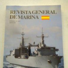 Coleccionismo de Revista Temas Españoles: REVISTA GENERAL DE MARINA. Lote 295743803
