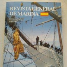 Coleccionismo de Revista Temas Españoles: REVISTA GENERAL DE MARINA. Lote 295747293