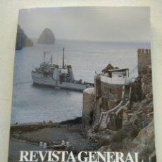 Coleccionismo de Revista Temas Españoles: REVISTA GENERAL DE MARINA. Lote 295747378
