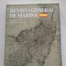 Coleccionismo de Revista Temas Españoles: REVISTA GENERAL DE MARINA. Lote 295747673