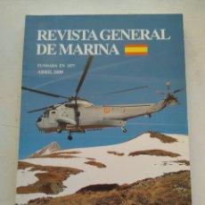 Coleccionismo de Revista Temas Españoles: REVISTA GENERAL DE MARINA. Lote 295751758