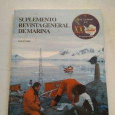Coleccionismo de Revista Temas Españoles: REVISTA GENERAL DE MARINA. Lote 295752363