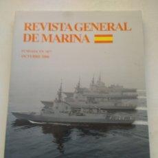 Coleccionismo de Revista Temas Españoles: REVISTA GENERAL DE MARINA OCTUBRE 2006 TOMO 251. Lote 297049888