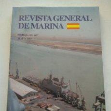 Coleccionismo de Revista Temas Españoles: REVISTA GENERAL DE MARINA MAYO 2003 TOMO 244. Lote 297050083