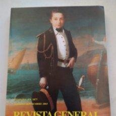 Coleccionismo de Revista Temas Españoles: REVISTA GENERAL DE MARINA AGOSTO-SEPTIEMBRE 2003 TOMO 245. Lote 297051013