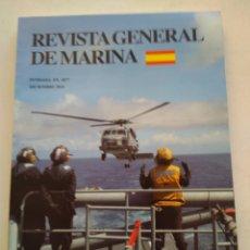 Coleccionismo de Revista Temas Españoles: REVISTA GENERAL DE MARINA DICIEMBRE 2010 TOMO 259. Lote 297080353