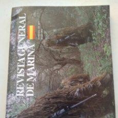Coleccionismo de Revista Temas Españoles: REVISTA GENERAL DE MARINA. Lote 297118088