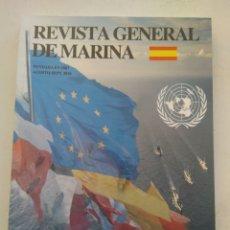 Coleccionismo de Revista Temas Españoles: REVISTA GENERAL DE MARINA. Lote 297118223