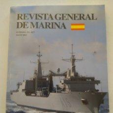 Coleccionismo de Revista Temas Españoles: REVISTA GENERAL DE MARINA. Lote 297119193