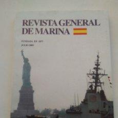 Coleccionismo de Revista Temas Españoles: REVISTA GENERAL DE MARINA. Lote 297119713