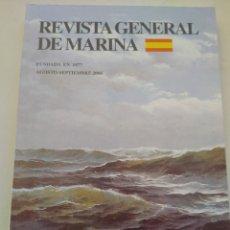 Coleccionismo de Revista Temas Españoles: REVISTA GENERAL DE MARINA. Lote 297119788
