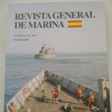 Coleccionismo de Revista Temas Españoles: REVISTA GENERAL DE MARINA MARZO 2004. Lote 297120863