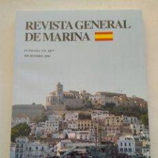 Coleccionismo de Revista Temas Españoles: REVISTA GENERAL DE MARINA DICIEMBRE 2003. Lote 297121873