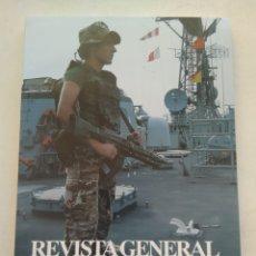 Coleccionismo de Revista Temas Españoles: REVISTA GENERAL DE MARINA MAYO 2008. Lote 297121913